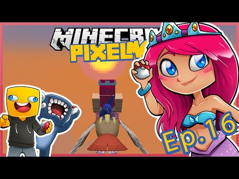 Pixelmon With Squid & Ash! Ep.16 TEAM ROCKET Attacks! | Minecraft Lets Play | Amy Lee33