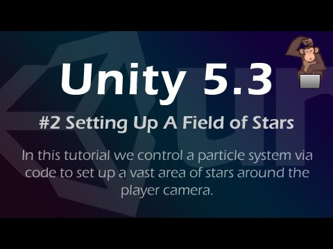 Creating an Infinite Area of Stars - Tutorial #2 (Unity 5.3)