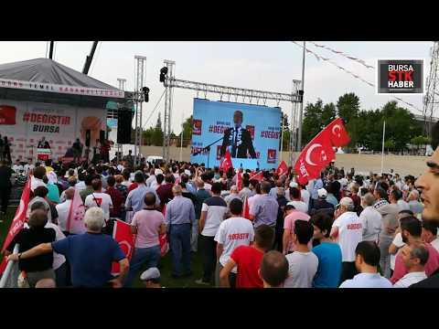 Temel KARAMOLLAOĞLU  Bursa Mitingi, 10 Haziran 2018   Saadet Partisi  