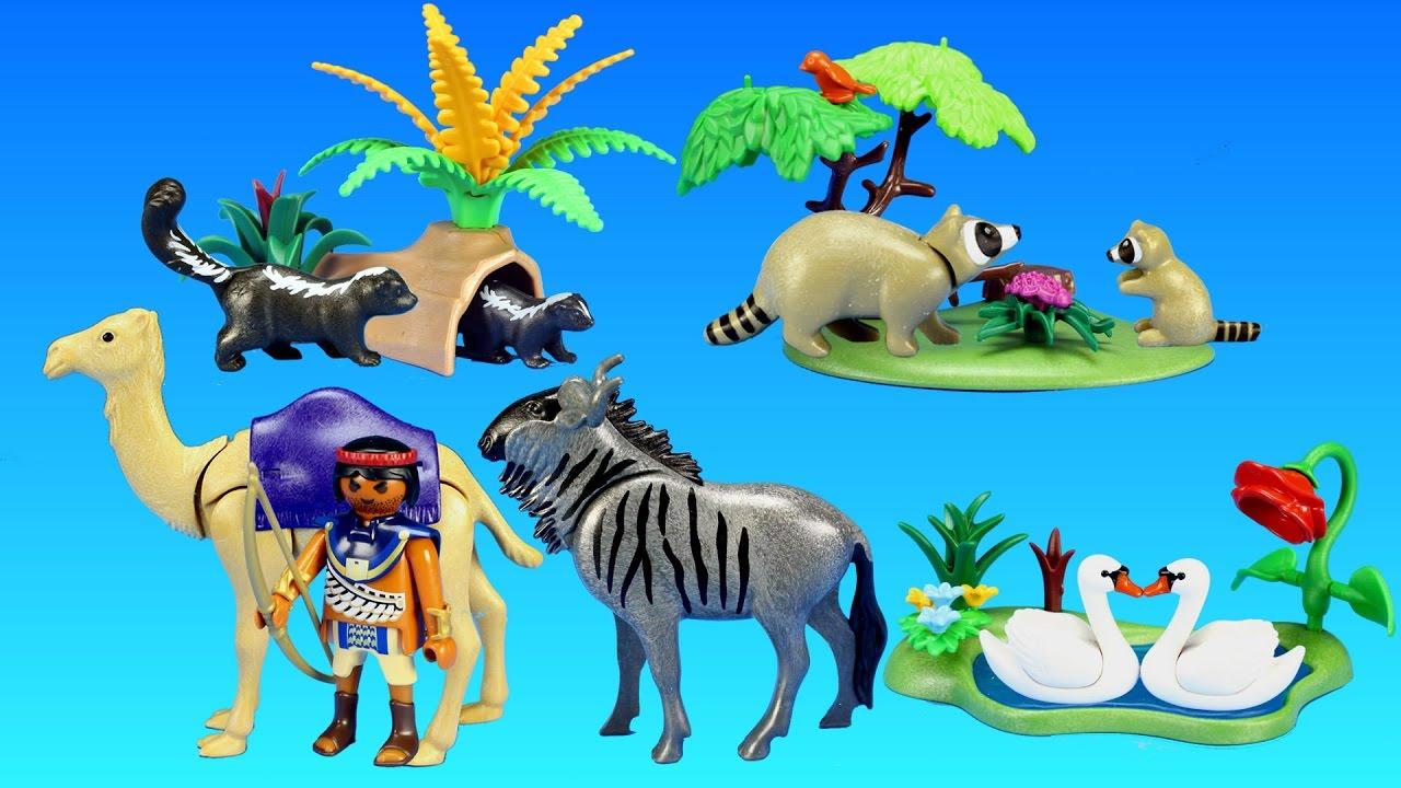 Wilder Wolf Playmobil Per Occidentale Foresta Hunter Trapper Animali Cane Zoo