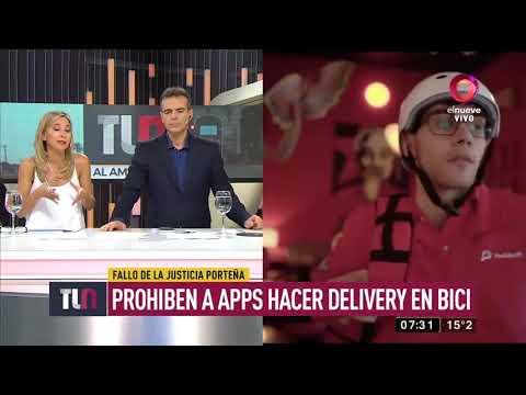 Prohíben A Apps Hacer Delivery En Bici