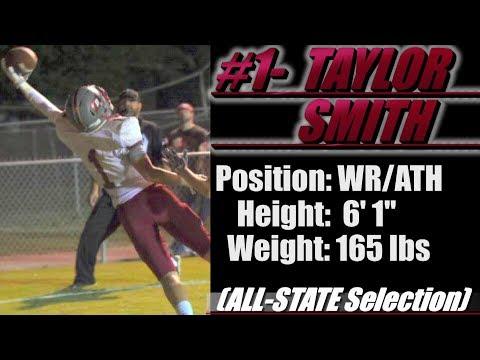 2019-Street Light Recruiting: WR-Taylor Smith (6' 1''-165 lbs- ALL STATE) Boaz High School (AL)