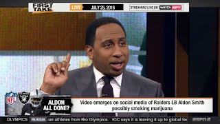 "Stephen A. Smith: ""Aldon Smith should be banned for stupidity"""