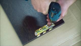 Видео - инструкция как собрать кровать из спальни Милена