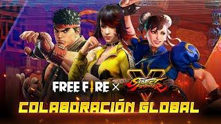 STREET FIGHTER x FREE FIRE - ¡NUEVA COLABORACIÓN GLOBAL! 🥊 | Garena Free Fire
