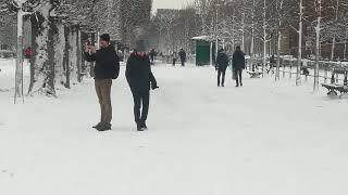 Frente Jardines de Luxemburgo - París