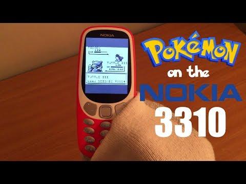 How To Play POKEMON On The NOKIA 3310
