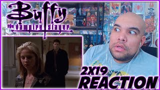 "Buffy the Vampire Slayer REACTION Season 2 Episode 19 ""I Only Have Eyes for You"" 2x19 Reaction!!!"
