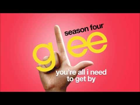 You're All I Need To Get By   Glee [HD FULL STUDIO]