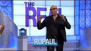 Monday on 'The Real': RuPaul Is in the House!