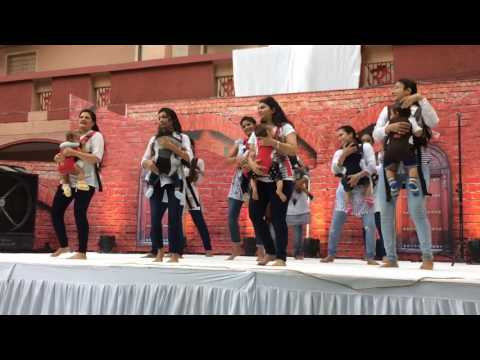 Baby Carrier Dance by Tapovan(Santram Mandir) Mothers