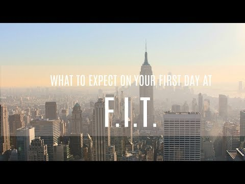 What to expect on the first day of school?!? | FASHION INSTITUTE OF TECHNOLOGY
