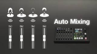 Bir AV Değiştirici Akış veya Kayıt ile Tüm Roland VR-KİN