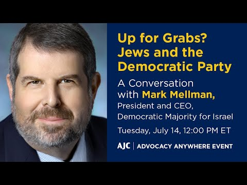 Up For Grabs? Jews And The Democratic Party – AJC Advocacy Anywhere