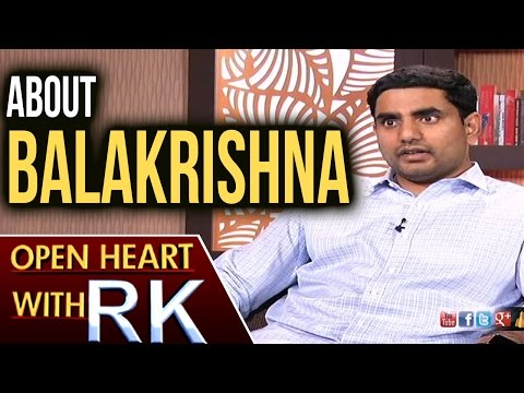 TDP MLC Nara Lokesh About Balakrishna | Open Heart With RK | ABN Telugu