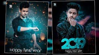 PicsArt Happy New Year Photo Editing 2019 Best Photo Editing Concept editing in PicsArt