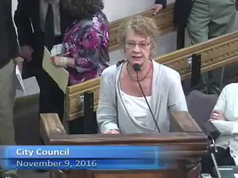 500 Cell Towers! Health Concerns at the Santa Fe City Council 11/ 9/2016