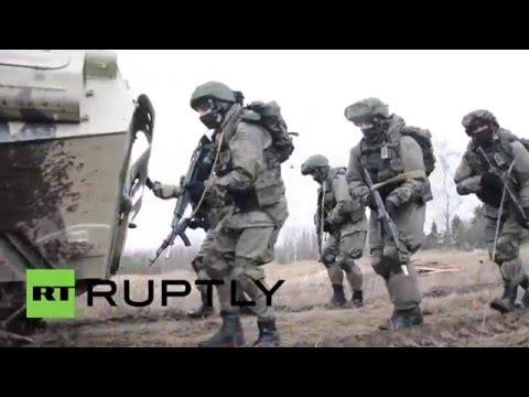 Russia: Drills held utilising new