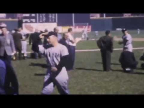 1961 World Series in Cincinnati vs. NY Yankees