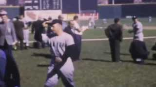 1961 World Series in Cincinnati vs. NY Yankees