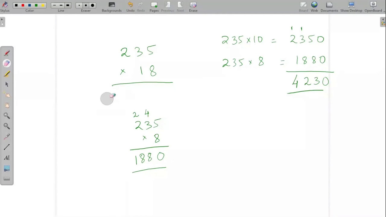 How to teach Math class online (Roman Numbers and