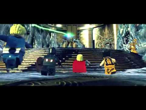 Video Multi] LEGO Marvel Super Heroes   Bande Annonce E3