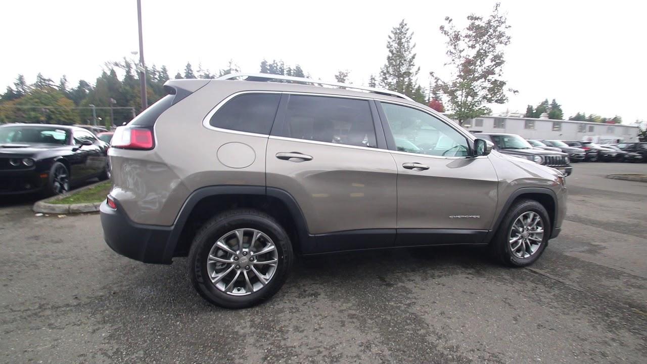 2019 Jeep Cherokee Latitude Plus | Light Brownstone | KD265306 | Redmond |  Seattle |