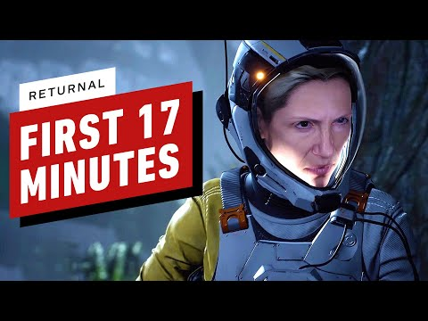 Returnal: The First 17 Minutes of PS5 Gameplay – 4K 60fps