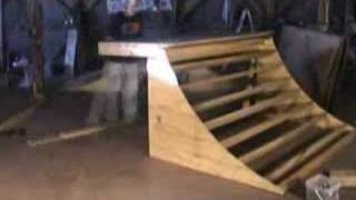 Building A Quarterpipe