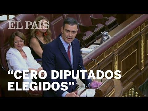 """SÁNCHEZ a CASADO: """"Que levanten la mano sus diputados por el País Vasco"""""""