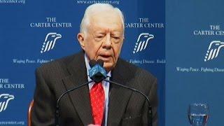 Former President Carter Talks Cancer Diagnosis