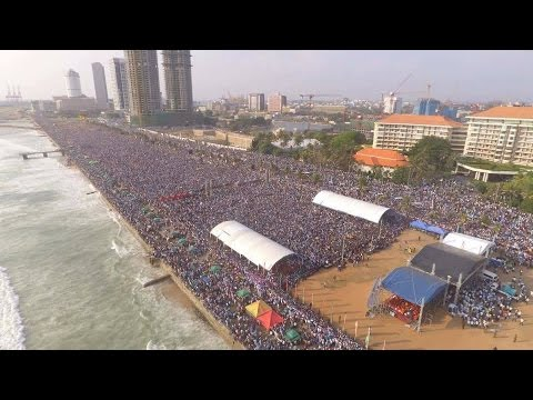 mahinda rajapaksa may day rally  2017