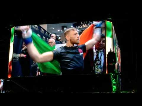 Conor McGregor entrance UFC 194 (Floyd Mayweather is done)