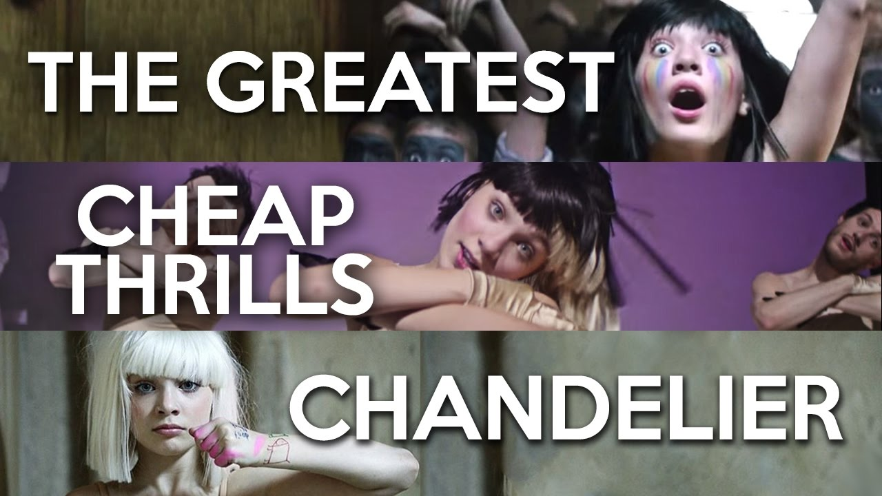 MASHUP - The Greatest x Chandelier x Cheap Thrills (Sia x3) - YouTube