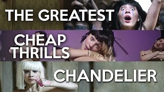 MASHUP - The Greatest x Chandelier x Cheap Thrills (Sia x3)
