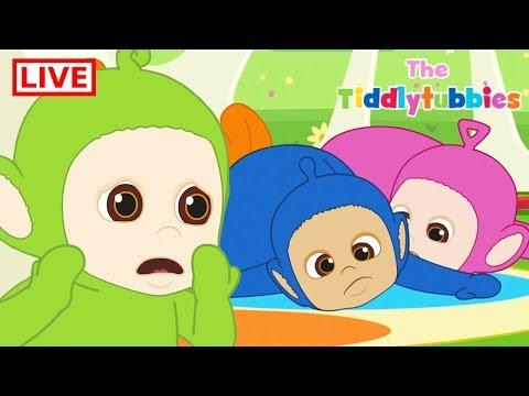 Teletubbies LIVE 鈽� NEW Tiddlytubbies 2D Series 鈽� Episodes 5-9 Tiddlytubbies Party鈽� Cartoon for Kids