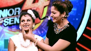 D4 Junior Vs Senior I The disguised floor... I Mazhavil Manorama