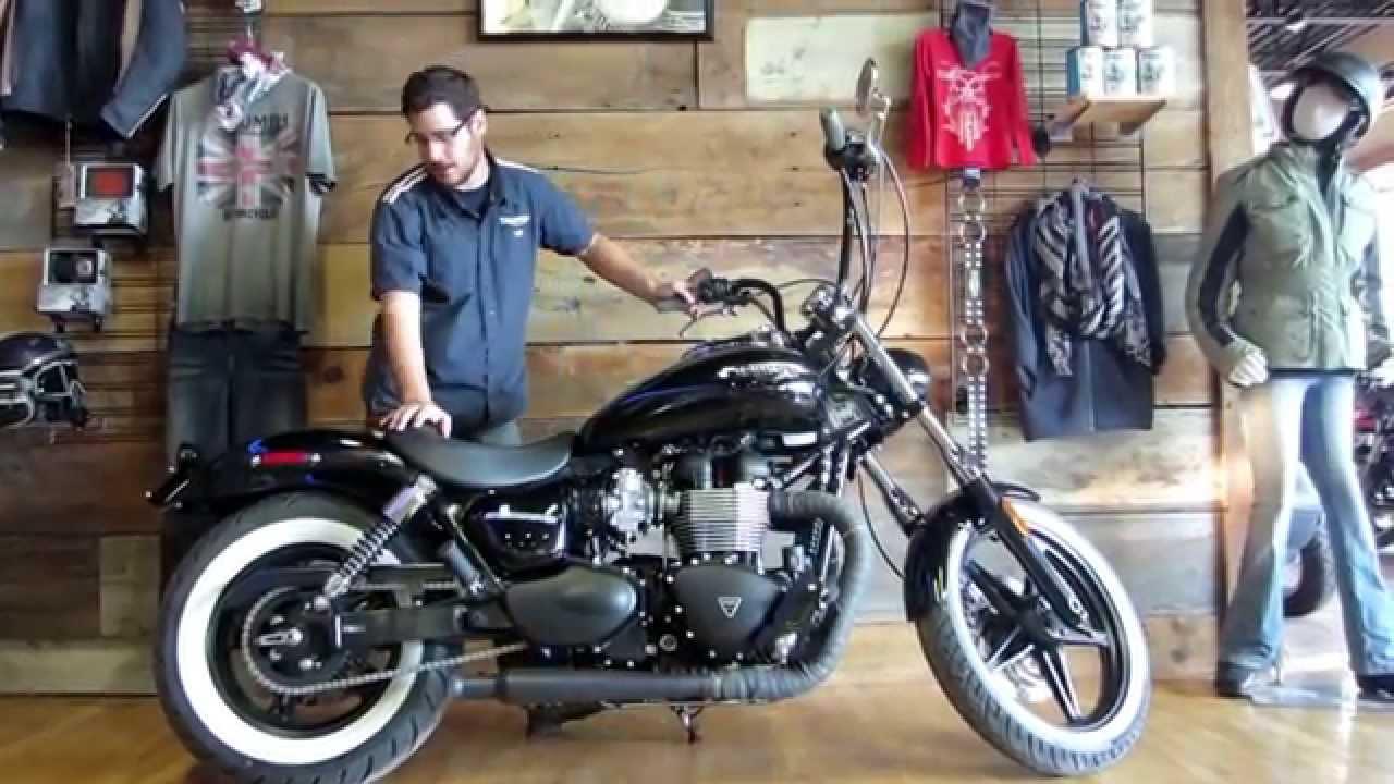 Custom Triumph Speedmaster Youtube