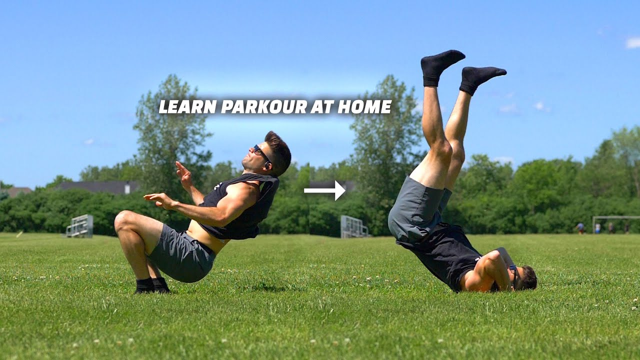 Learn Parkour Kip-Up Catch move Easily – Turn a backroll into Air Catch