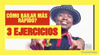 CÓMO BAILAR MÁS RÁPIDO /MOVER LOS PIES /PASOS RAPIDOS DE SALSA