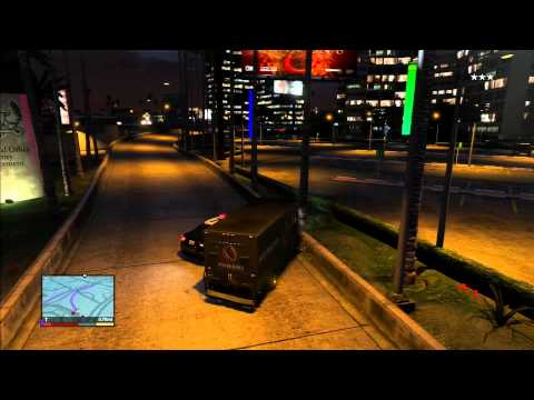 """Grand Theft Auto 5 Lets Play """"Truck Robbery"""" (Part 16)"""