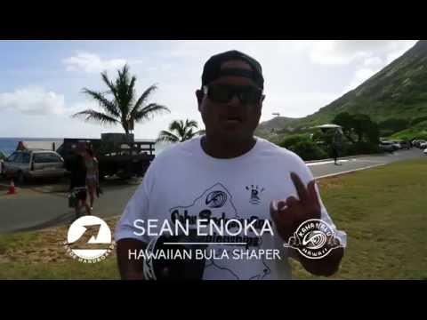 Hawaiian Bodysurfer Sean Enoka On His Slyde Bula Design