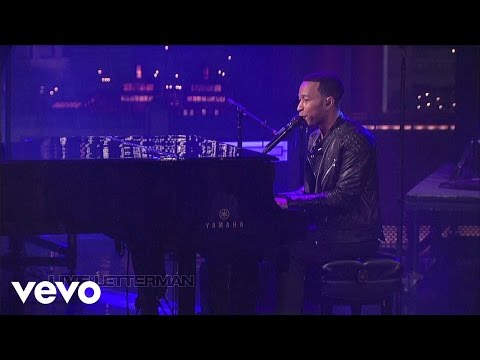 John Legend - Who Do We Think We Are (Live on Letterman)