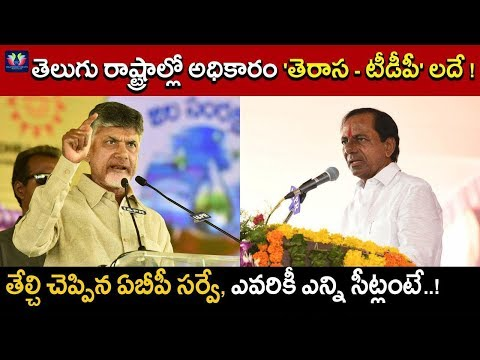 ABP Media Survey Reports On Two Telugu States | Telugu States 2019 Assembly Elections | TFC News