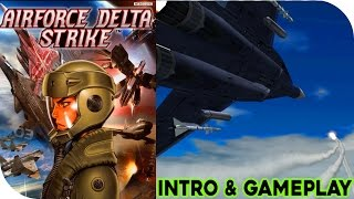 Airforce Delta Strike (PS2) Intro & Gameplay HD