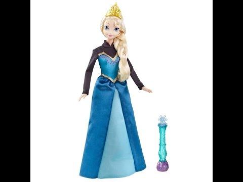 Poupée Reine des neiges Anna et Elsa Disney