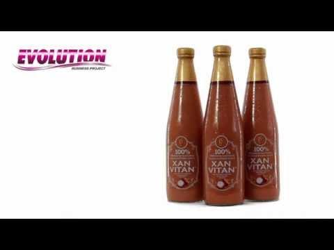 100% натуральный сок из свежих плодов мангостина Xan Vitan