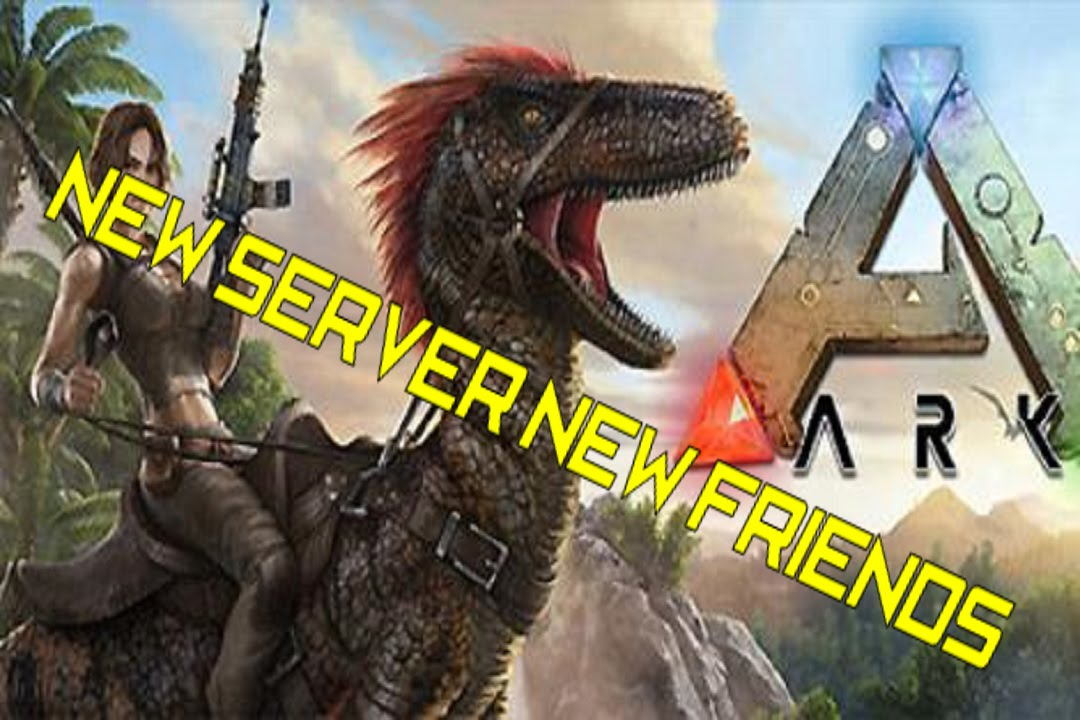 how to find your new ark server
