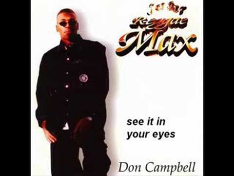 Don Campbell - See it in your eyes
