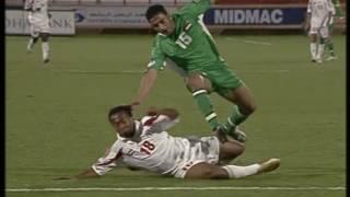 مباراة العراق و الامارات كاس الخليج 200418الشوط الاول